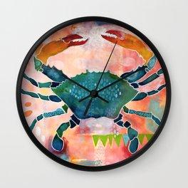 Blue Crab No. 1 Wall Clock