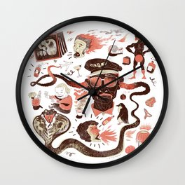 Crazy Travel Stories Wall Clock