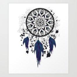 Darkened Dreams Art Print