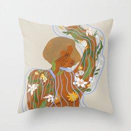 Nurture and Grow Throw Pillow