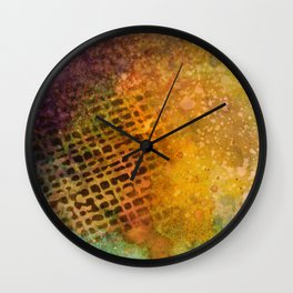 Trying to Cover it Up Wall Clock