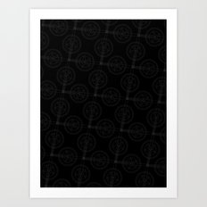 Cranks (Dark) Art Print