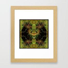 Castaneda power Framed Art Print