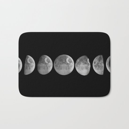 New moon Bath Mat