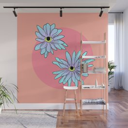 chrysanthEYEmum Wall Mural