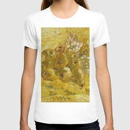 Quinces, Lemons, Pears and Grapes by Vincent van Gogh T-shirt