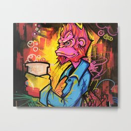 Monkey Bizness Metal Print