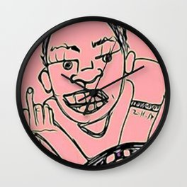 Up Yours Mate Wall Clock