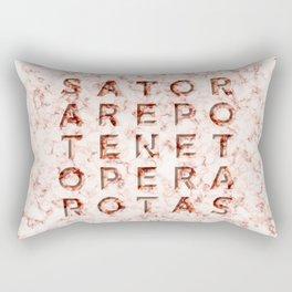 SATOR  AREPO  TENET  OPERA  ROTAS - Magic Spell Rectangular Pillow