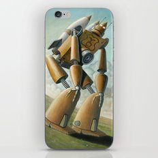 Robot Dilemma iPhone & iPod Skin