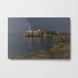 Malecón & El Morro Metal Print