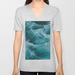 Electric Ocean Unisex V-Neck