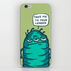Space Carrot iPhone & iPod Skin