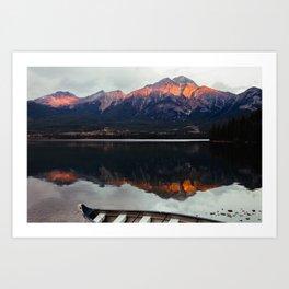 Pyramid Lake Art Print