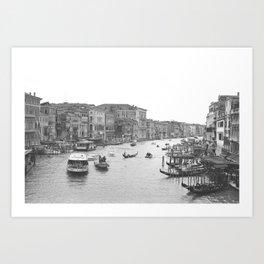Venice on Film Art Print