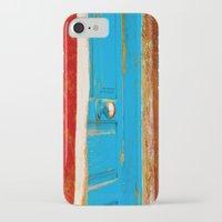 door iPhone & iPod Cases featuring Door by Maite Pons