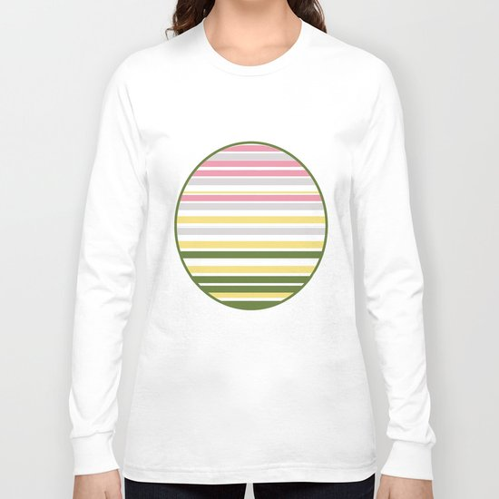 Calm Layers of Pastels Long Sleeve T-shirt