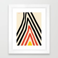 Goodbye Mountain — Matthew Korbel-Bowers Framed Art Print
