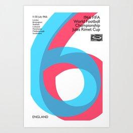 World Cup: England 1966 Art Print