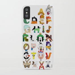 That's Alphabet Folks iPhone Case