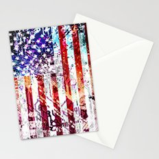 circuit board panel USA Stationery Cards