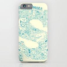 Monster Doodle - light version Slim Case iPhone 6s