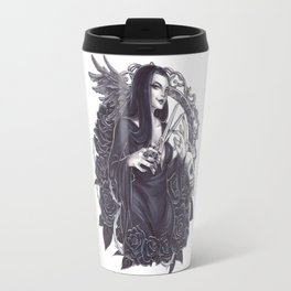 Morticia Addams Travel Mug