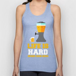 Gift For Beer Lover. TShirt For Parents. Unisex Tank Top