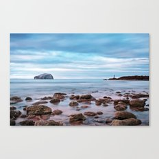 Bass Rock And The Beacon Canvas Print
