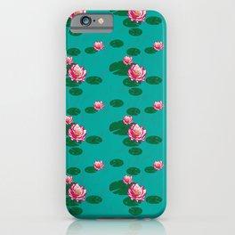 LuMa Water Lilies iPhone Case