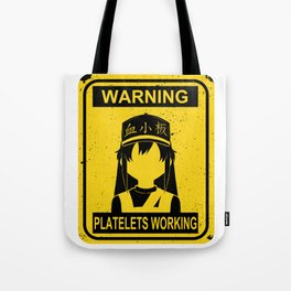Cells at Work Tote Bag
