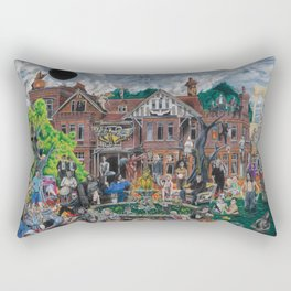 The House of the Black Hole Sun Rectangular Pillow