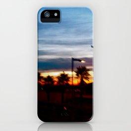 Sunrise in Sarria iPhone Case