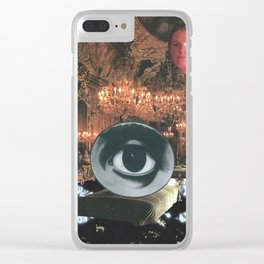 The Glorious Night Descends (I) Clear iPhone Case