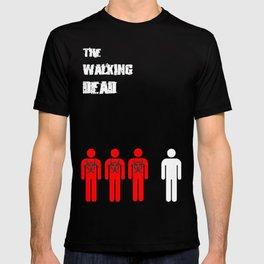The Walking Dead Minimalist T-shirt