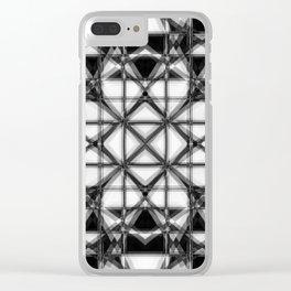 lattice Clear iPhone Case