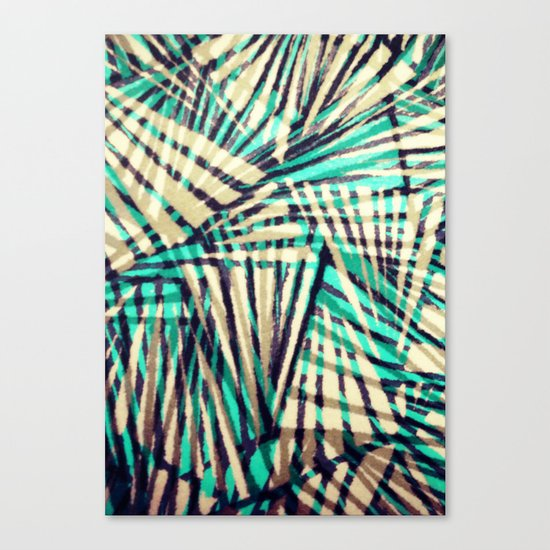 Tiger Stripes Canvas Print