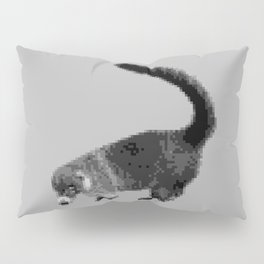 Greyscale Coati Pillow Sham