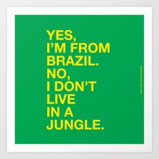 From Brazil III Art Print