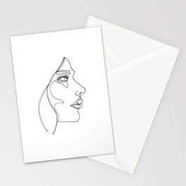 DISAPPOINTMENT ( ONE LINE DRAW) Stationery Cards
