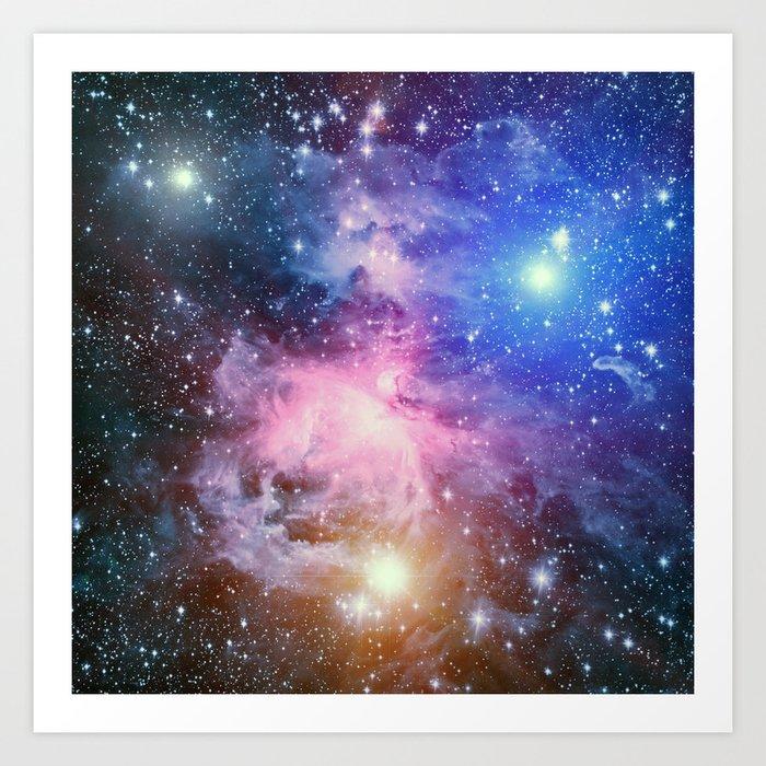 Great Orion Nebula Art Print