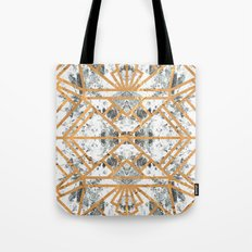 Marble Deco Shade One; Tote Bag