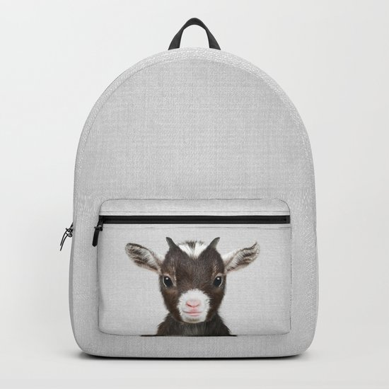 Baby Goat - Colorful by galdesign