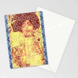 Gustav Klimt & Persian Ceramic Art inspired Stationery Cards