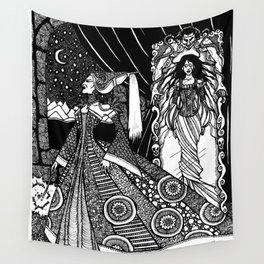 Snow White in the Mirror Wall Tapestry