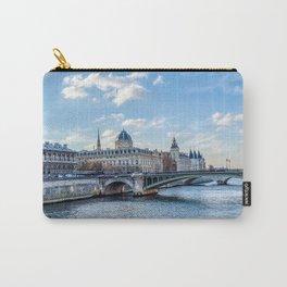 Tribunal de Commerce on the Ile de la Cite - Paris, France Carry-All Pouch