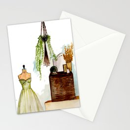 Vintage scene Stationery Cards