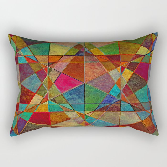 The Beauty of Geometry 5 Rectangular Pillow