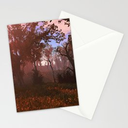 Magic into the woods Stationery Cards