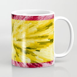 Extruded Flag of Spain Coffee Mug